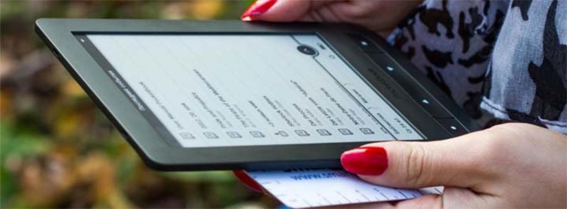 Замена экрана электронной книги
