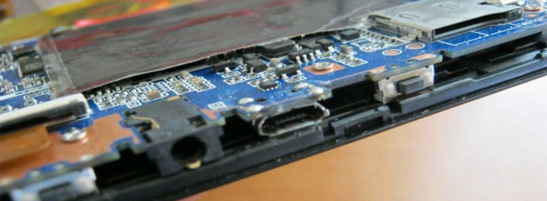 Замена разъема зарядки электронной книги