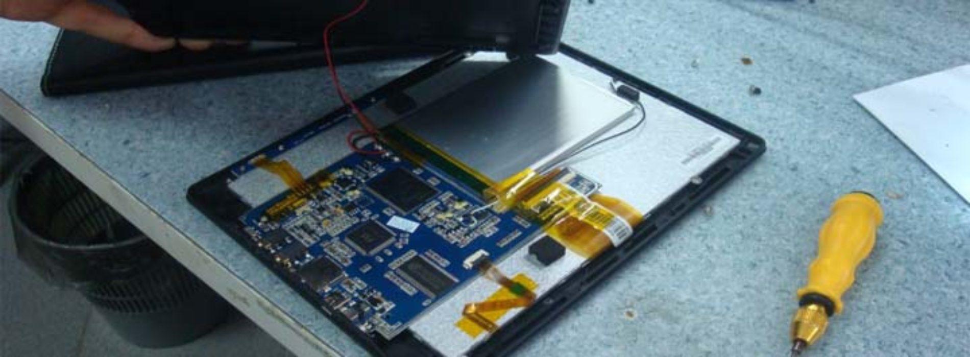 Замена батареи в электронной книге