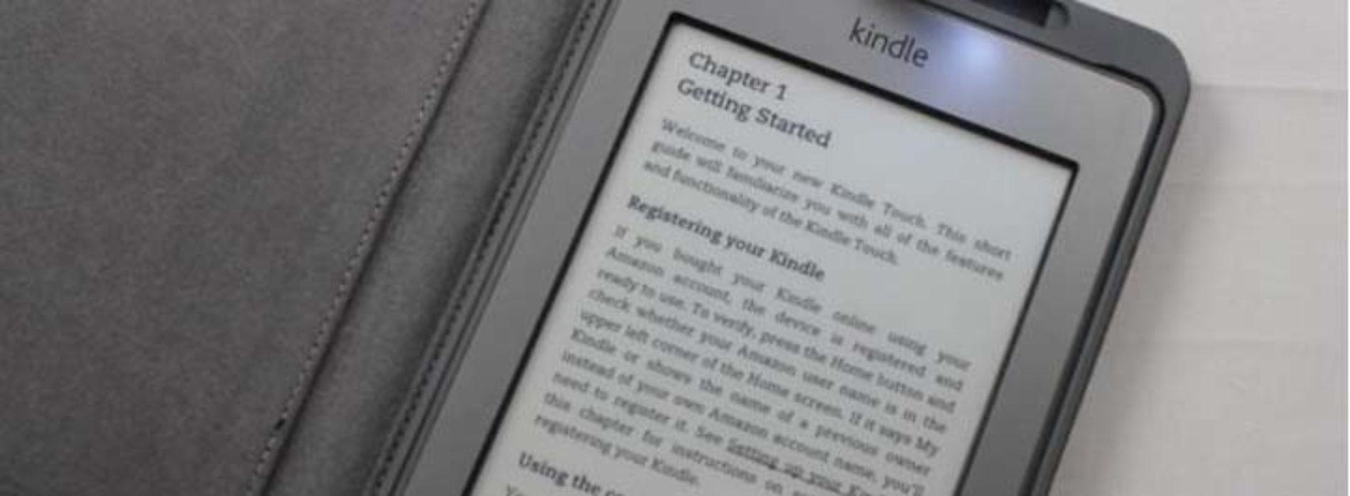 Замена экрана электронной книги Amazon Kindle 4