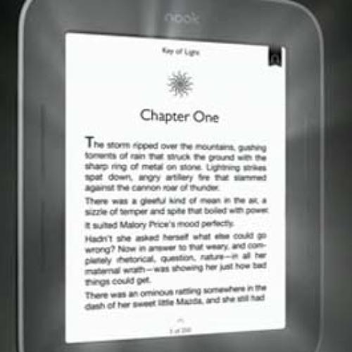 Замена экрана Barnes&Noble