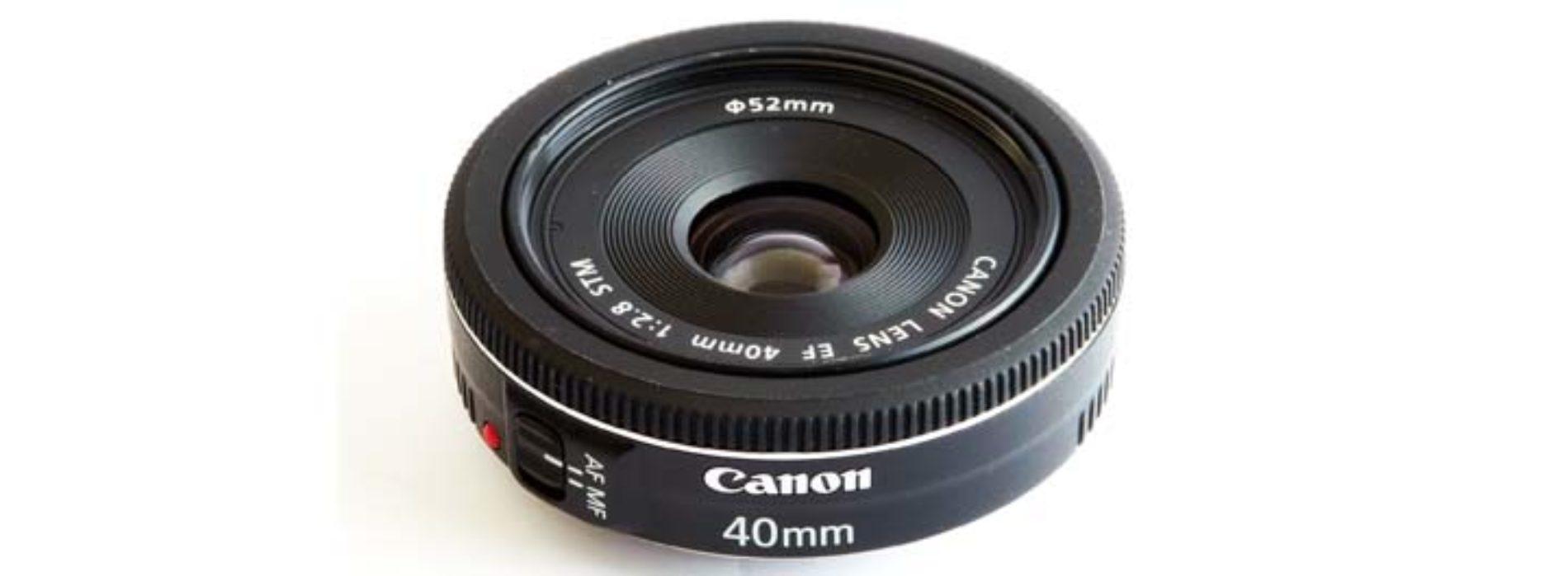 Ремонт объективов Canon 40mm