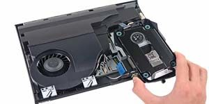 Ремонт Sony PlayStation 3 super slim - замена привода