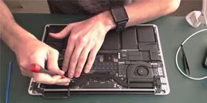 Замена шлейфа ноутбука