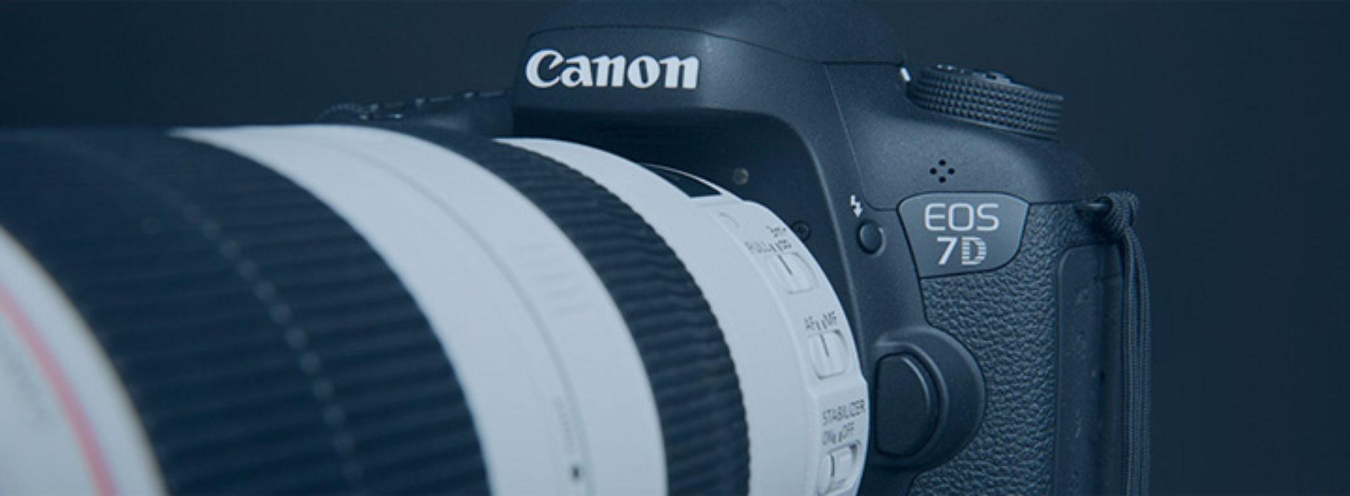 Ремонт зеркальных фотоаппаратов Canon
