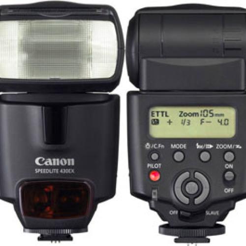 Ремонт вспышек Canon Speedlite