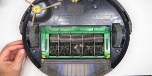 Ремонт роботов пылесосов iRobot -попадание посторонних предметов