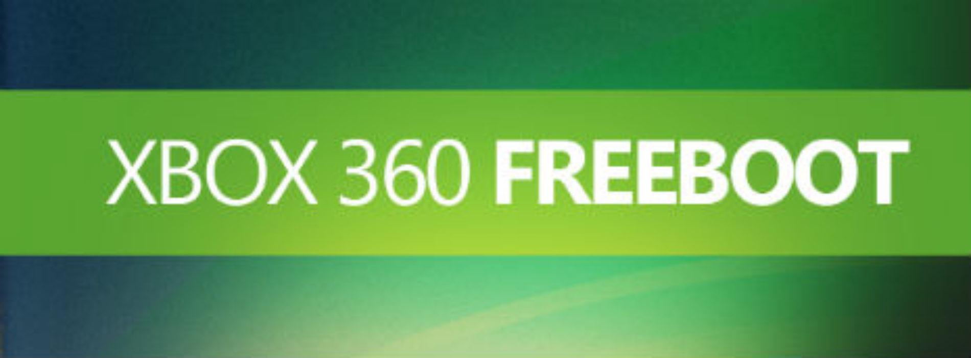 Ремонт игровых приставок ХBOX 360. Freeboot