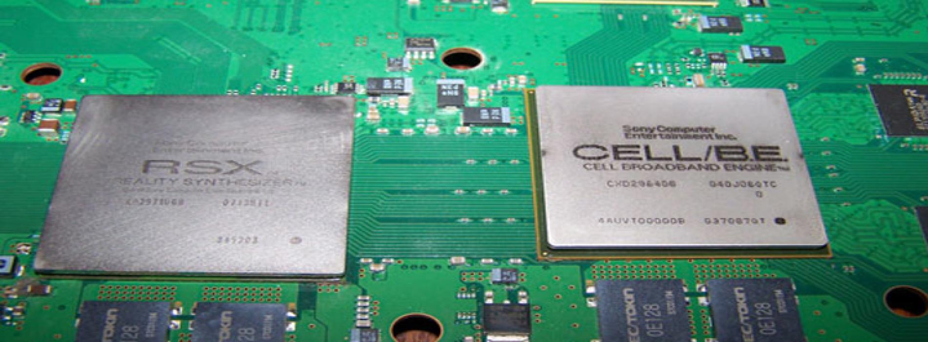 Чистка и срез крышек CELL, RSX игровых приставок Sony PS3 slim, fat