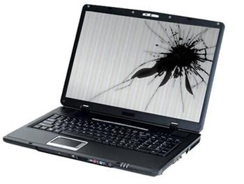 Разбита матрица ноутбука Asus