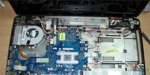 Чистка ноутбуков Toshiba