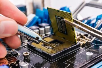Реболлинг чипа ноутбука Toshiba