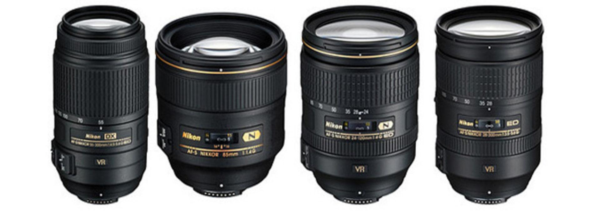 Ремонт объективов Nikon