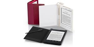 Модельный ряд электронных книг Sony