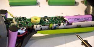 Ремонт аккумуляторных пылесосов Samsung