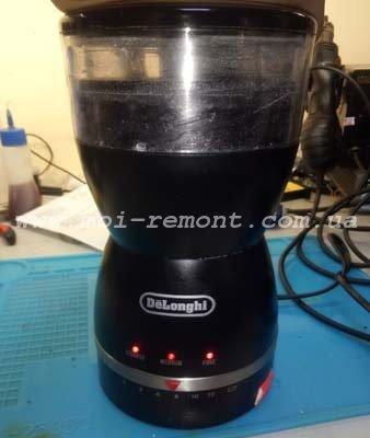 Проверка кофемолки Delonghi KG49 после ремонта