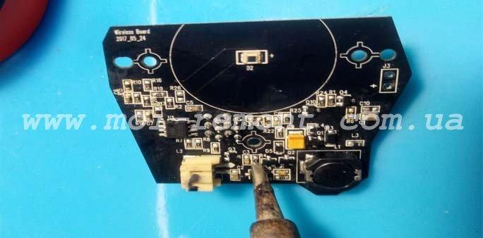 Ремонт платы лидара в пылесосе Xiaomi Mi RoboRock