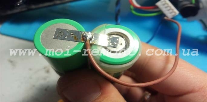 Замена аккумуляторов Electrolux Ergo 11