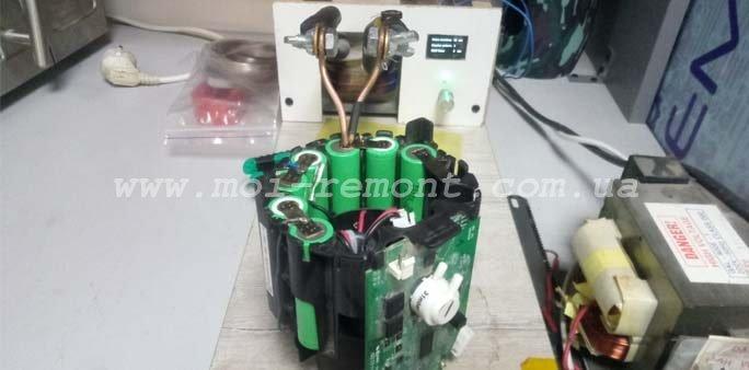 Ремонт аккумуляторного пылесоса Bosch