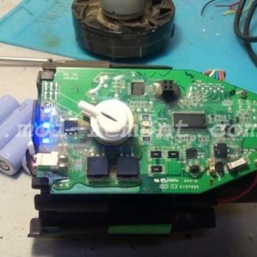 Ремонт аккумуляторного пылесоса Bosch — замена аккумуляторов