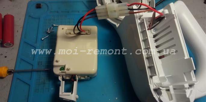 Замена аккумуляторов в пылесосе Black&Decker