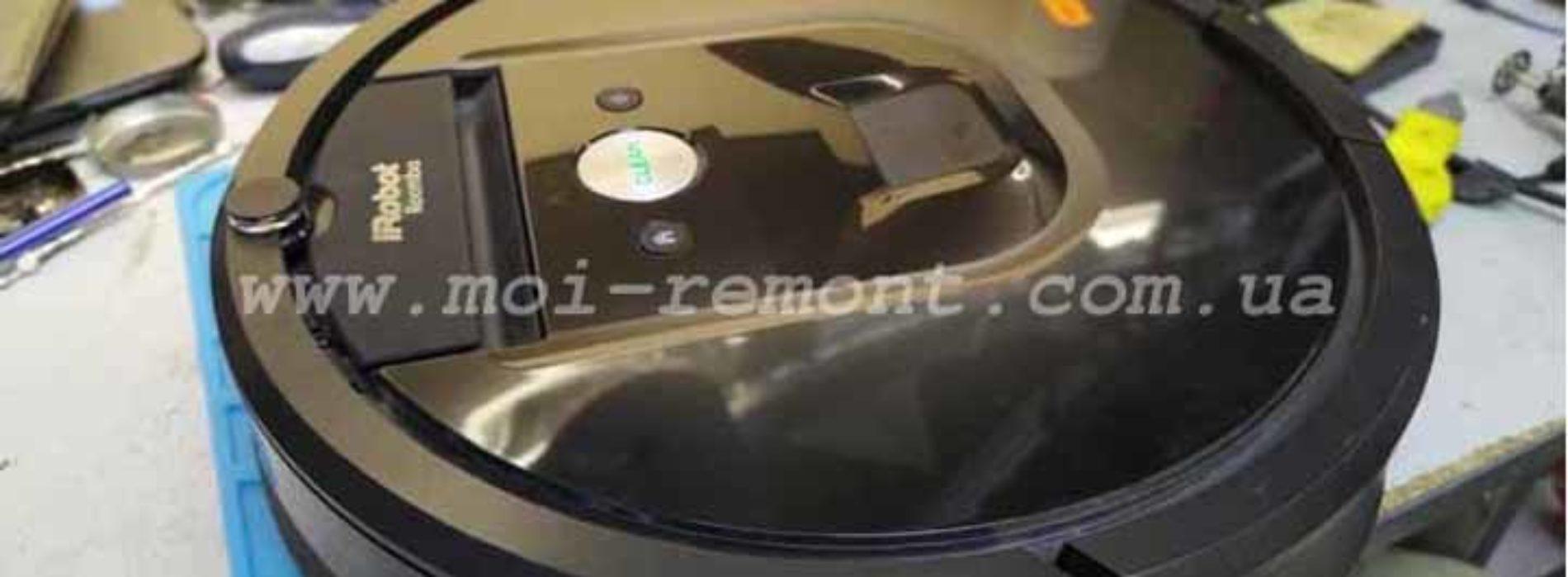 Ремонт iRobot 980 — останавливается, ошибка 02