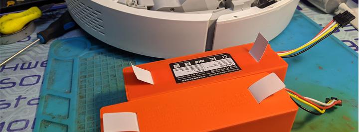 Замена аккумулятора Xiaomi Roborock